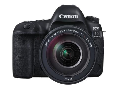 """キヤノン、フルサイズデジタル一眼レフカメラ""""EOS 5D Mark IV""""を9月8日より発売"""