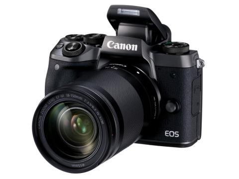 """Canon、高精細EVFを内蔵したミラーレスカメラ""""EOS M5""""を発売!"""