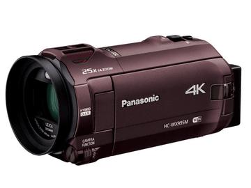 Panasonic、デジタル4Kビデオカメラ HC-WX995M/VX985Mを発売!