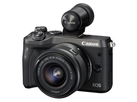 """Canon、小型ミラーレスカメラ""""EOS M6""""を発売!"""