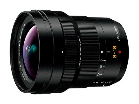 マイクロフォーサーズシステム用交換レンズ H-E08018を5月25日発売!