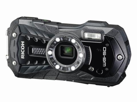 アウトドア撮影を手軽に楽しめるコンパクトデジタルカメラ 「RICOH WG-50」新発売!