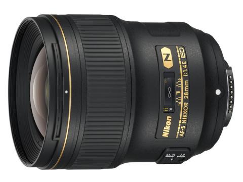 ニコン、大口径広角単焦点レンズ「AF-S NIKKOR 28mm f/1.4E ED」を発売!